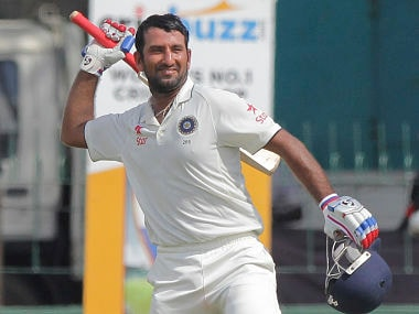 File picture of Cheteshwar Pujara. AP