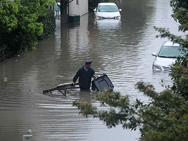 Floods in China. Image courtesy: Reuters