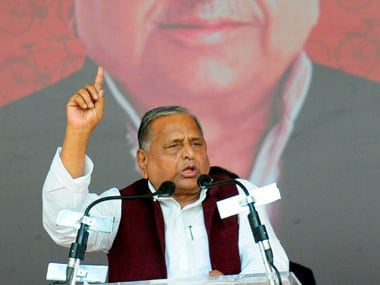 Mulayam Singh Yadav. AFP.