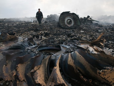 File image of the debris of Flight MH-17. Reuters
