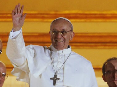 Pope Francis. AP