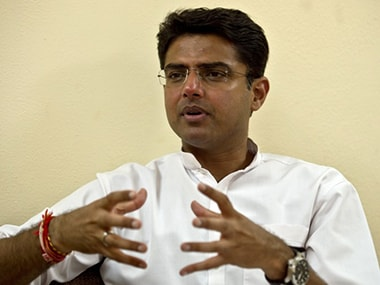 Congress leader Sachin Pilot. File photo. AFP
