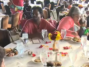 File image of a wedding feast. Screengrab from YouTube.