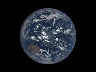 Earth as seen from the Earth Polychromatic Imaging Camera. Image Credit: Nasa