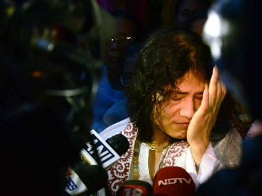 Irom Sharmila in a file photo. AFP