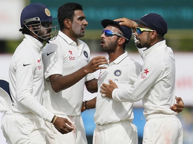 File picture of India cricketers. AFP