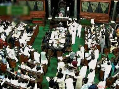 File image of the Lok Sabha. PTI
