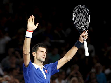 Novak Djokovic. Reuters