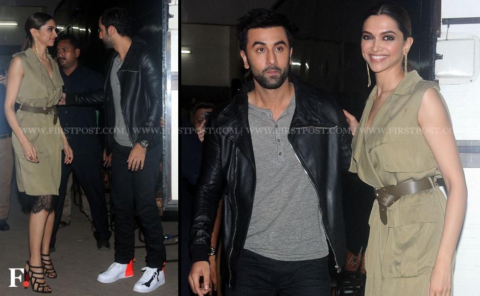 Photos: Ranbir Kapoor, Deepika Padukone during 'Tamasha ...