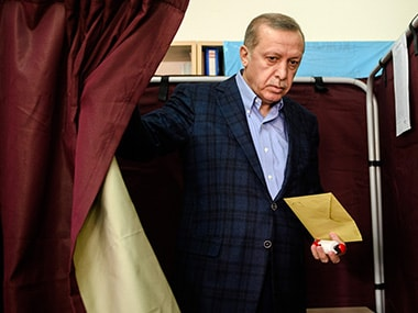 File image of Turkish president Tayyip Erdogan. AFP