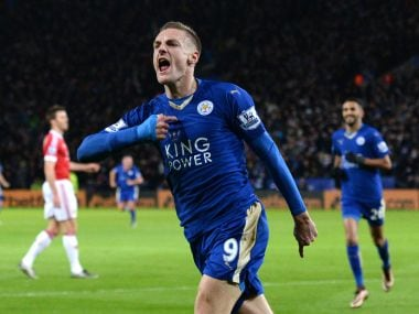 Jamie Vardy scored 24 Premier League goals last season. AFP file image