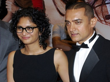 Aamir Khan and wife Kiran Rao/ Reuters