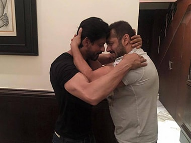 Shah Rukh Khan and Salman Khan/ Pic courtesy facebook