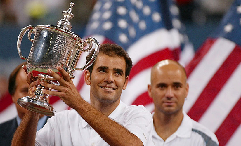 Since Pete Sampras and Andre Agassi, USA has struggled to unearth another champion in that ilk. AFP