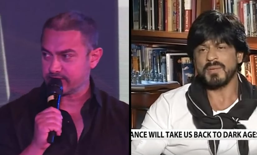 Aamir Khan and Shah Rukh Khan's 2015 interviews courted controversy.