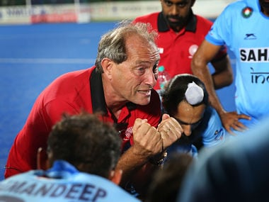 Indian hockey team coach, Roelant Oltmans. GettyImages