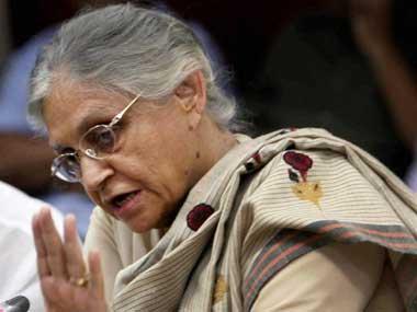 Former Delhi CM Sheila Dikshit. PTI