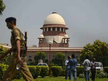 File image of the Supreme Court. AFP
