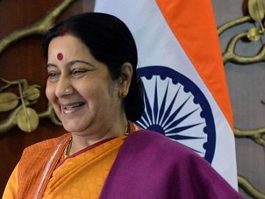 External Affairs Minister Sushma Swaraj AFP