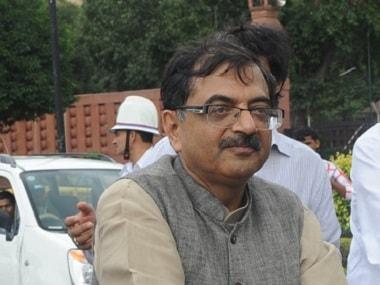 BJP MP Tarun Vijay. AFP