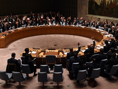 File image of the UN Security Council. AFP