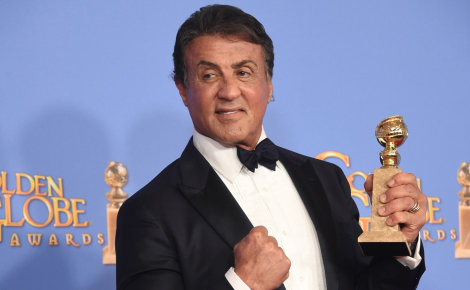 Sylvester Stallone was judged the Best Supporting Actor In A Motion Picture for his role in <em>Creed. </em>In the film, he reprised his role of boxer Rocky Balboa. AFP