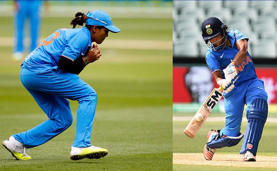 The Indian women's team were superb in the field in the second T20I against Australia. Getty Images