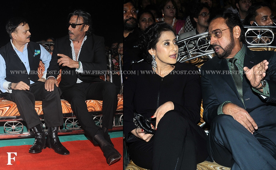 CP Ahmed Javed, Jackie Sroff, Manisha Koirala with Gulshan Grover were spotted at the event too.Sachin Gokhale/Firstpost