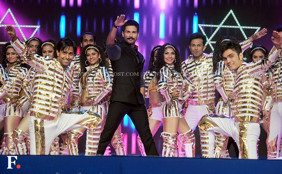 Shahid Kapoor's dance performance at the event. Sachin Gokhale/Firstpost