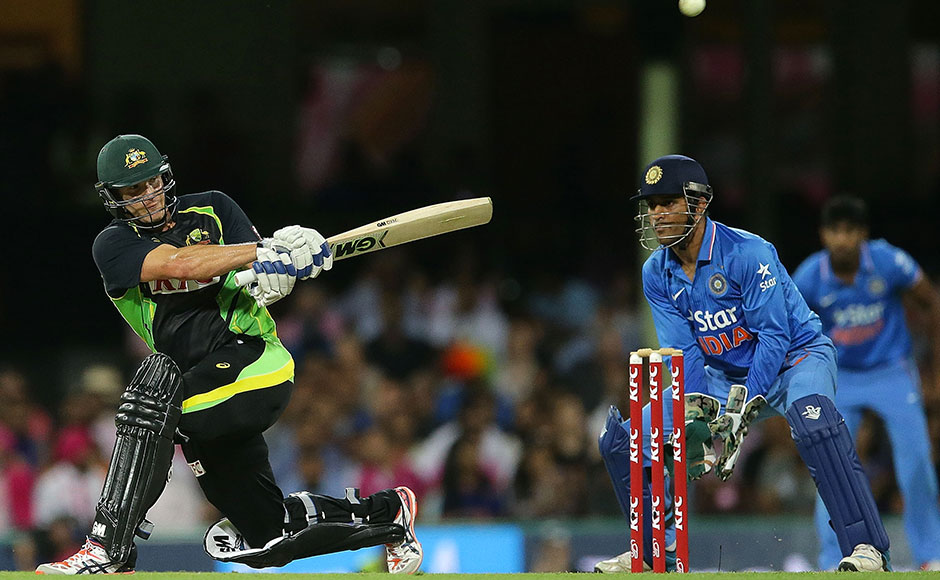 Shane Watson played a gem of knock, scoring 124 not out off 71 balls to propel Australia to 197. Getty