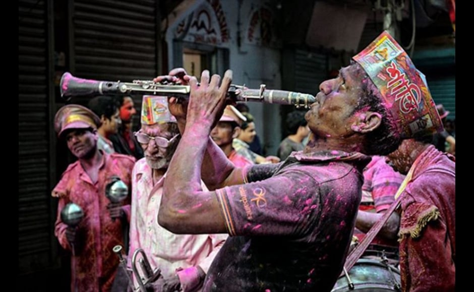 Debiprasad Mukherjee, 32, a business consultant shot this photograph at Burrabazar, Kolkata on the occasion of Holi.