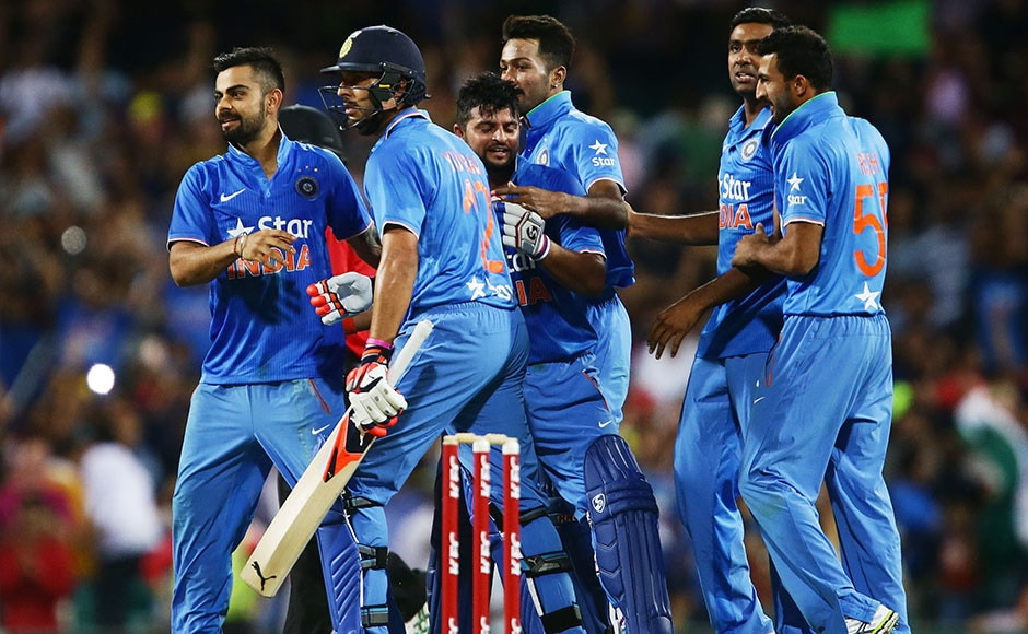 The match was a thriller and went down t the wire. Suresh Raina hit the winning runs in the last ball. Getty