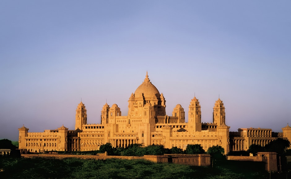 Umaid Bhawan Palace in Jodhpur, Rajasthan, bagged the award of the world's best hotel at the Travellers' Choice award organised by TripAdvisor, a popular travel website. Getty Images