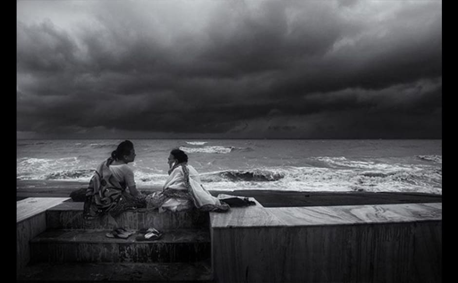 Photographer Madhabendu Hensh, 29, shot this image during the monsoon season in Digha, a beach in West Bengal, in 2014. Digha is one of the most tourist-friendly places in West Bengal but these two ladies seated beside the sea ignored him, just as they ignored the drizzle. Hensh took the opportunity to capture this very interesting moment.