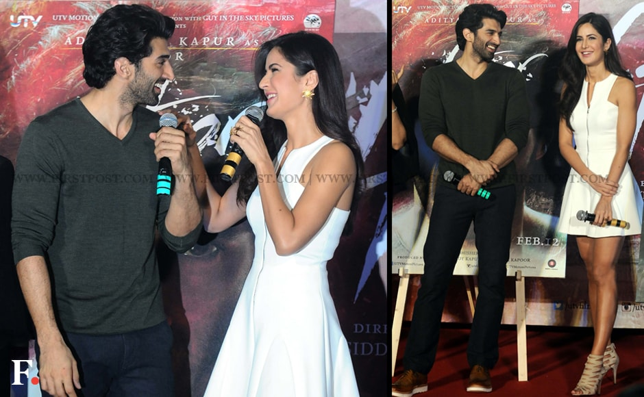 Aditya Roy Kapoor And Katrina Kaif