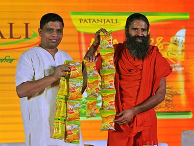 Baba Ramdev in a file photo. Getty images