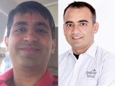 VT Bharadwaj, MD-Sequoia Capital (left) and Neeraj Kakkar, Founder & CEO, Hector Beverages