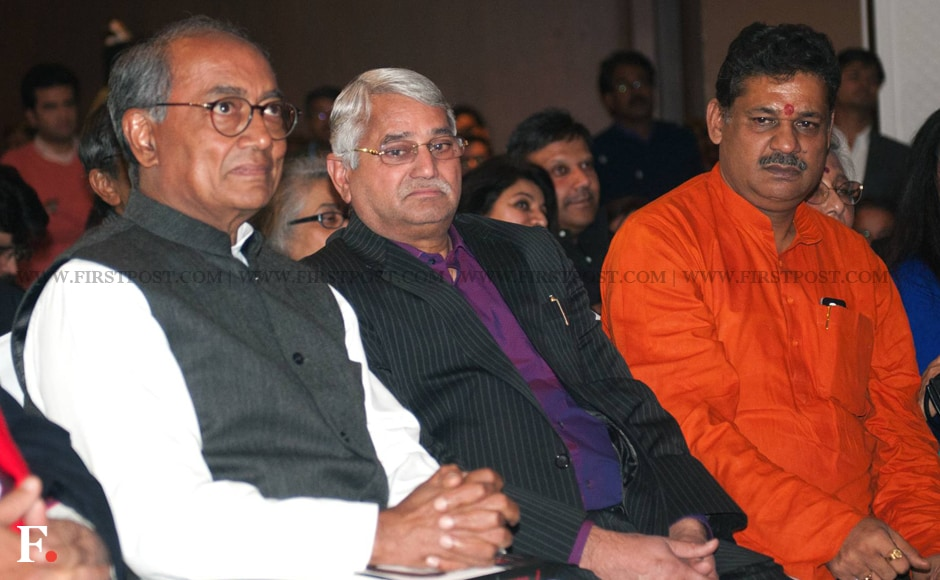 Digvijaya Singh and Kirti Azad also attended the launch. Naresh Sharma/Firstpost