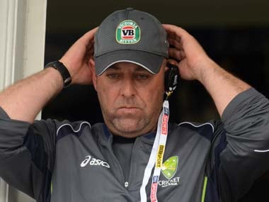 File photo of Darren Lehmann. Reuters