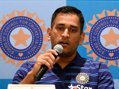 India limited overs captain MS Dhoni. PTI