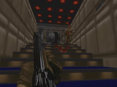 Doom is getting a new level. Screenshot from YouTube video.