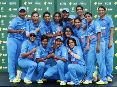 Victorious Indian team. Getty