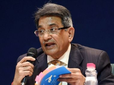 File picture of Justice RM Lodha. PTI