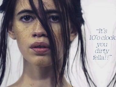 Kalki Koechlin in The Printing Machine. Screengrab from YouTube