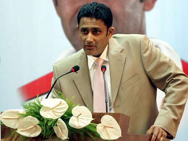 File picture of Anil Kumble. Reuters