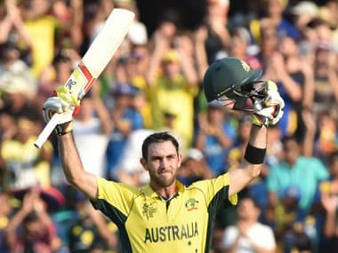 File photo of Glenn Maxwell. AFP