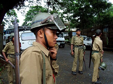 Meghalaya policemen in a file photo. Reuters