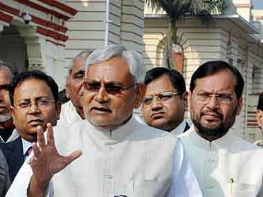 Nitish Kumar. File photo. PTI