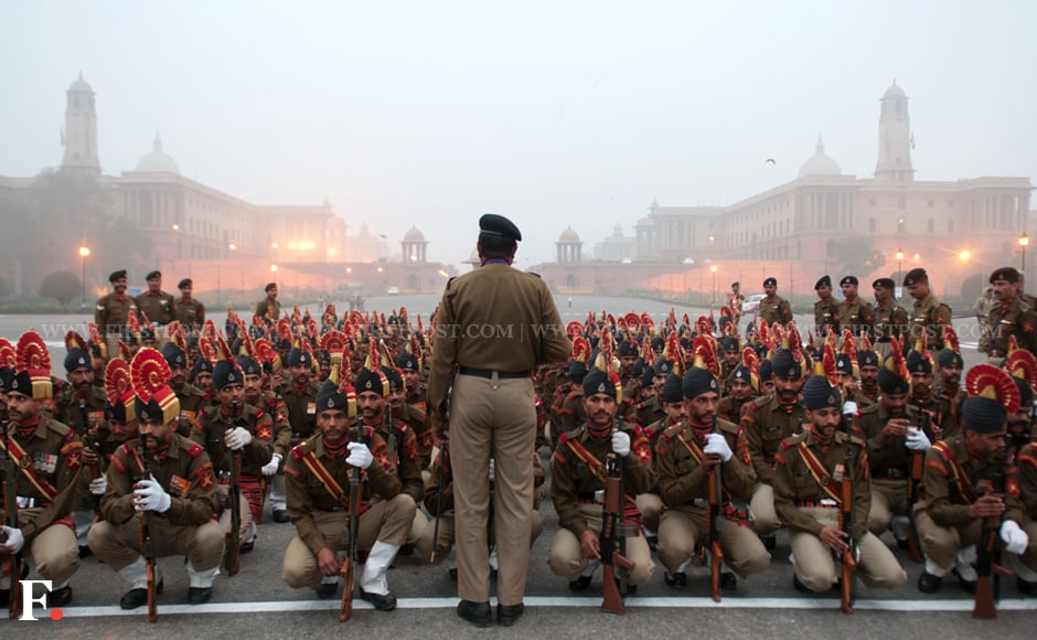 Members of the CRPF, police and the BSF will take part in the parade. Naresh Sharma/Firstpost