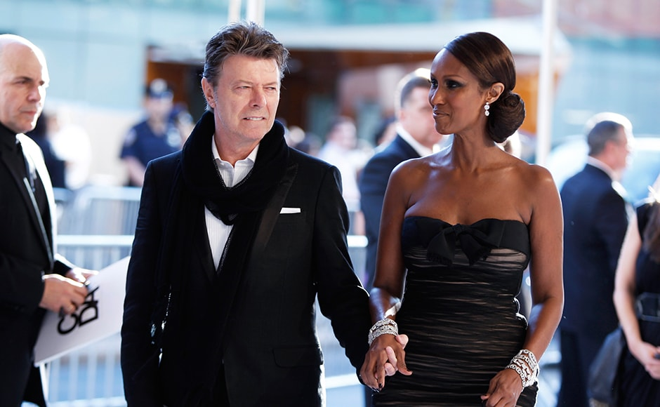 "Singer David Bowie arrives with his wife Iman to attend the an award ceremony in 2010. Ever ahead of public opinion, Bowie told the Melody Maker newspaper in 1972 that he was gay, four years later, he informed Playboy that he was bisexual, but in the 1980s he told Rolling Stone magazine that the declaration was ""the biggest mistake I ever made"" and that he was ""always a closet heterosexual"". Reuters"